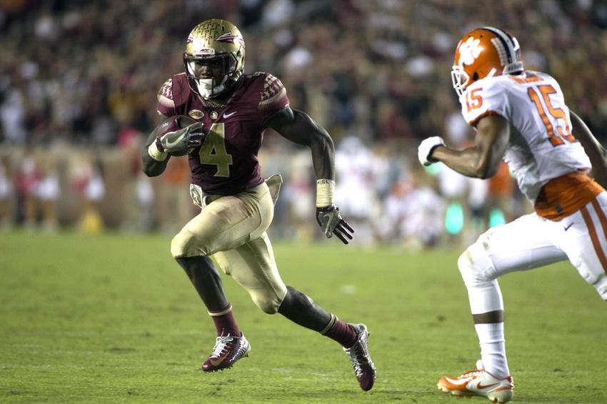 Dalvin Cook Ncaa Football Clemson Florida State Fsu Top Cinci Impact Players