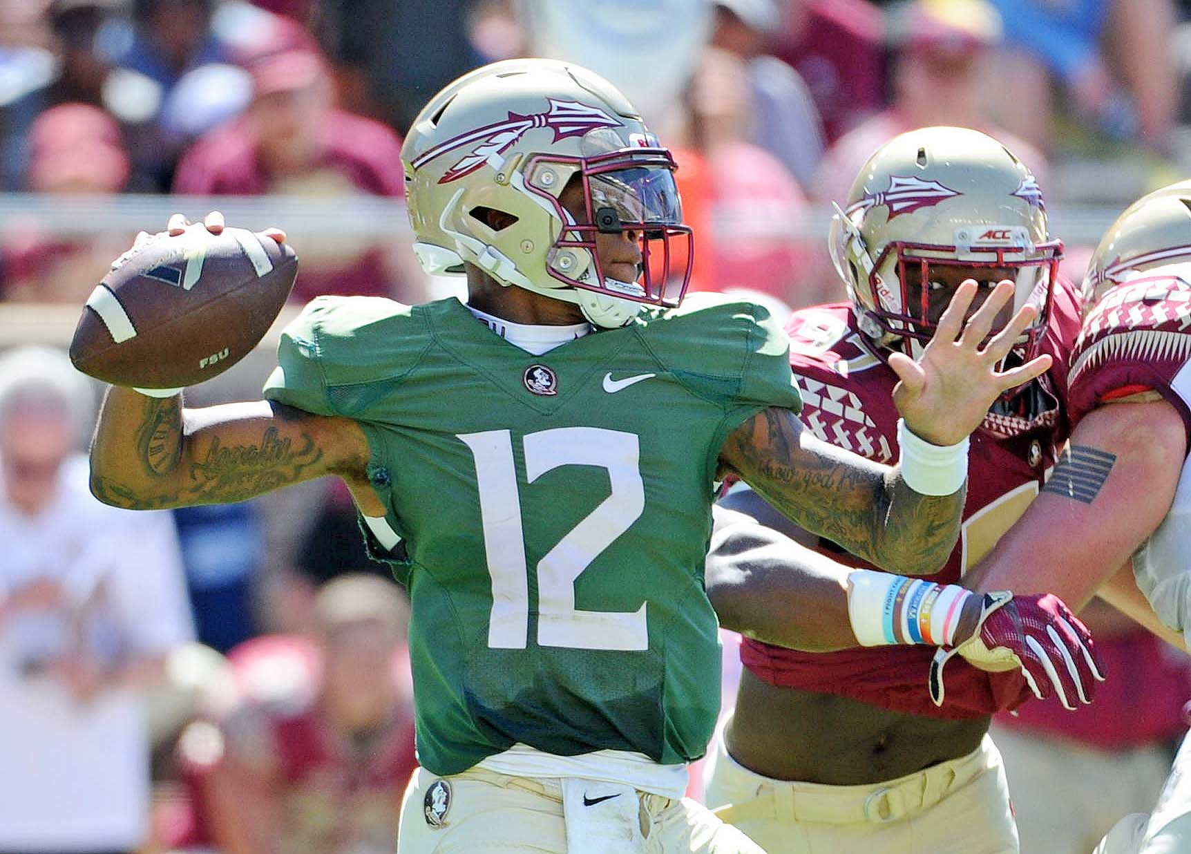 Fsu football depth chart projecting post spring starting lineup fsu football voltagebd Image collections